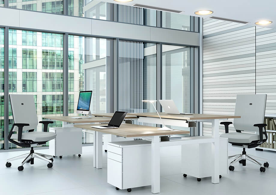 Furniture Delivery London Installation Whiteleys Office Furniture