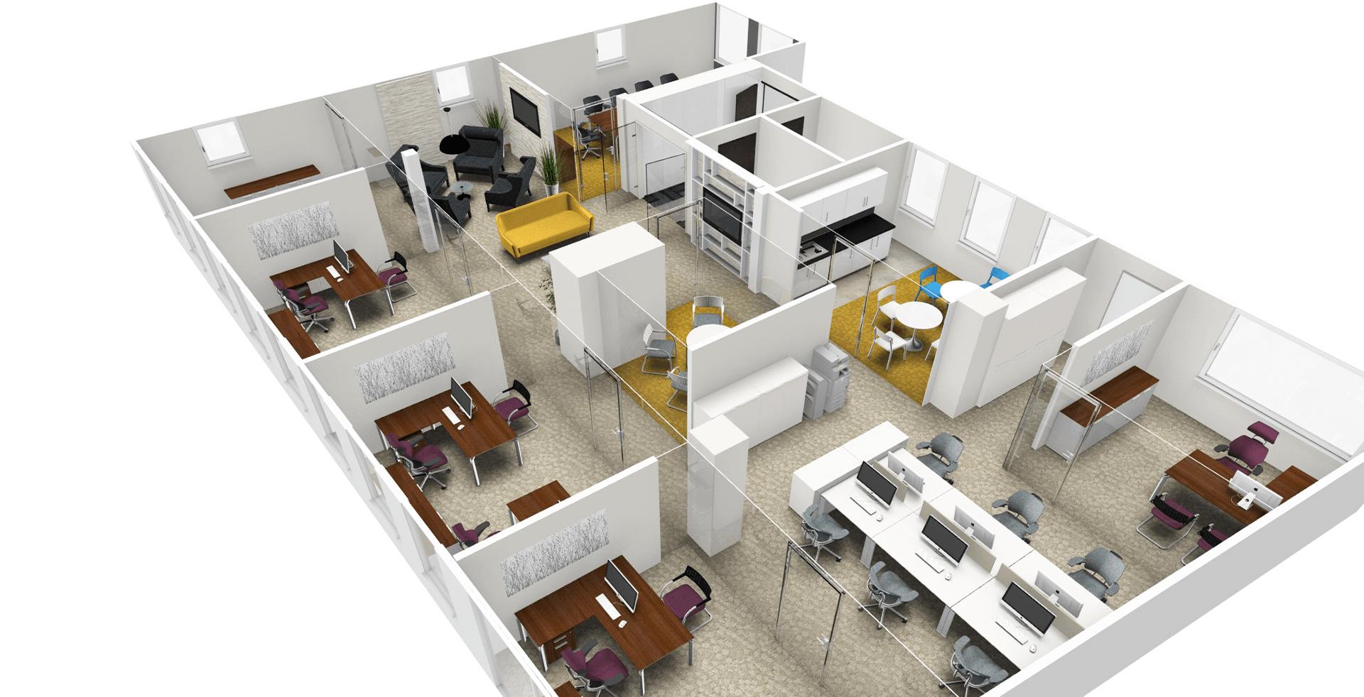 Cad Designer London Whiteleys Office Furniture